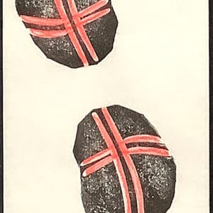 Two Pebbles by Janet Horne Cozens
