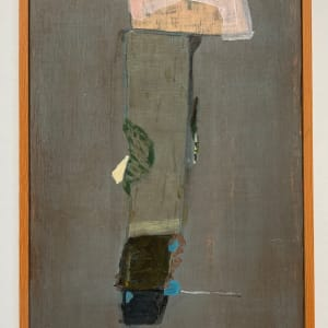 Long painting or tall with verso painting by MaryAnn Puls