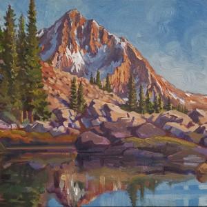 """Alpine - Mountain Red #2 """