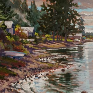 """""""a patch of blue"""" Porpoise Bay. Sechelt BC"""