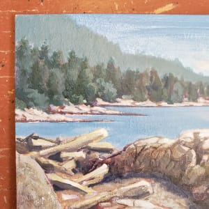 """Beach Access - April sun"" by Jan Poynter"