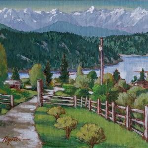 """""""overlook -  West Howe Sound"""""""
