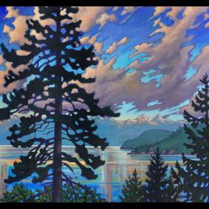 """Howe Sound Sunset #2"""