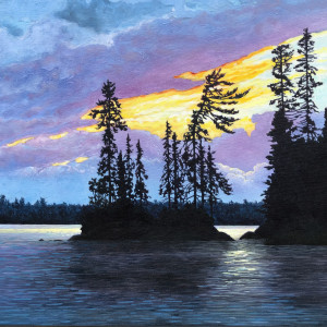 Little Forrest and Forrest Island, Lake of the Woods