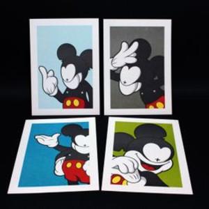 """""""Metal Mickey Mini Print"""""""