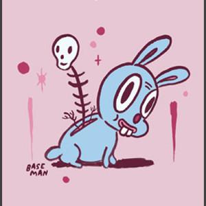 """Open Wounds Bunny Skull"""