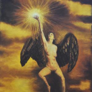 Angel Star by Merrilyn Duzy