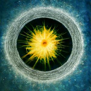 Cosmic Series #4 (Yellow Center)