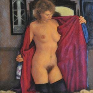 Cynthia & the Red Kimono by Merrilyn Duzy