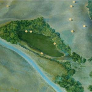 Gorman Series: Christo's Umbrellas II by Merrilyn Duzy
