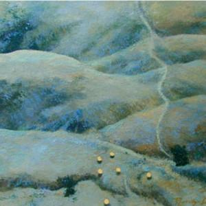 Gorman Series: Christo's Umbrellas I by Merrilyn Duzy