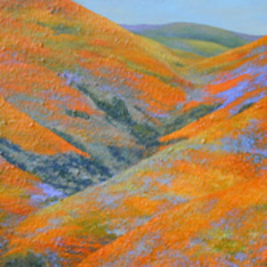 Gorman Series: Flowering Hills II
