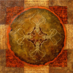 Language Palimpsest: Sacred Geometry by Merrilyn Duzy