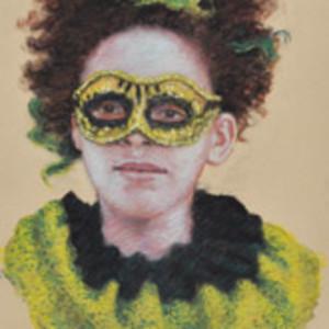 Study for Harlequin (Lynette Davis) by Merrilyn Duzy