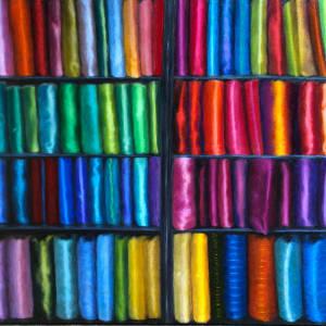 Thai Silk by Merrilyn Duzy