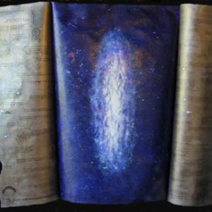 Cosmic Series #3 (Book open & closed)
