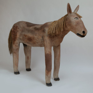 Mule (BST-068) by Felipe Benito Archuleta