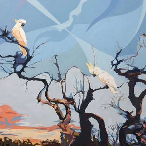 Cockatoo Sunset by Wendi Leigh