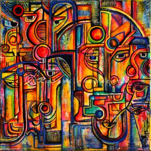 Diversity series_01 by Rajani Ambade