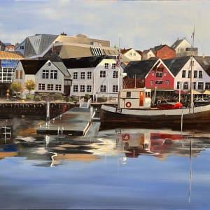 Stavanger Harbor by Paul Beckingham