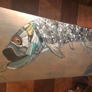 Tarpon beach house table by Heather Medrano