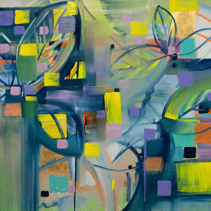 Abstract Study (Nordic botanical) by Pamela Staker