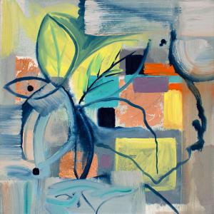 Abstract Study (Scandinavian flora) by Pamela Staker