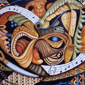 Island Chant Ake Ake by Marcella Hayes Muhammad