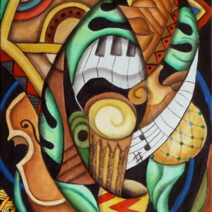 Musical Jazz by Marcella Hayes Muhammad