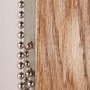 woven wood panel