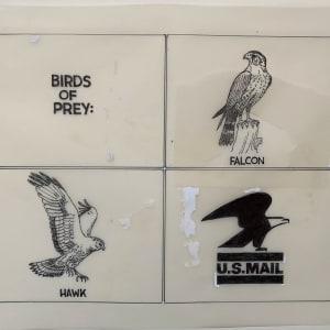 US Mail Birds of Prey by Steve Kelley