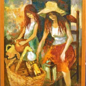 """Brocante a Narbonne""by Jean Abadie by Jean Abadie"