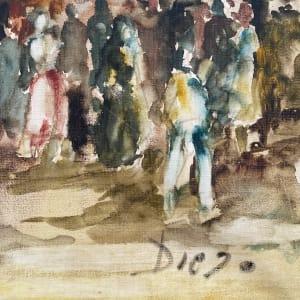 At the Market by Antonio Diego Voci