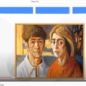 """""""The Fisher People"""" by Antonio Diego Voci #C10 by Antonio Diego Voci  Image: DIEGO VIRTUAL MUSEUM TOUR 2013 by Stephen Max"""