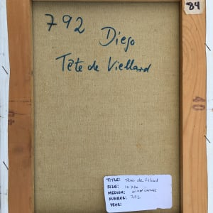 """""""Tete de Villard"""" by Antonio Diego Voci #C24 by Antonio Diego Voci"""