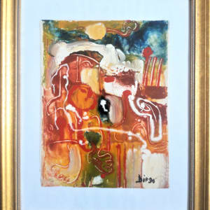 """""""Abstract Composition""""  #C29 by Antonio Diego Voci  Image: #ABSTRACT by DIEGO_VOCI GLASSPAINT ON CANVAS"""