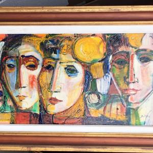 """""""Les Trois Visages"""" by Antonio Diego Voci #C30 by Antonio Diego Voci"""