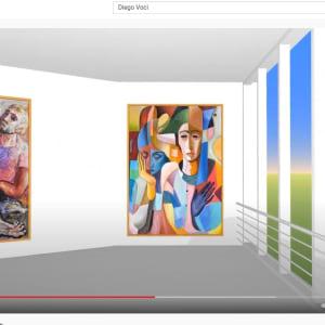"""Le Concert de Harlekins"" #C4 by Antonio Diego Voci by Antonio Diego Voci  Image: DIEGO VIRTUAL MUSEUM TOUR 2013"