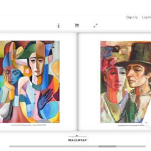 """""""Le Concert de Harlekins"""" #C4 by Antonio Diego Voci by Antonio Diego Voci  Image: Artist of a Thousand Faces by Stephen Max"""