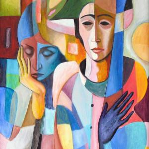 """""""Le Concert de Harliquin"""" by Antonio Diego Voci #C4"""
