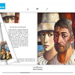 """Old Man with Harlequin"" by Antonio Diego Voci #C5 by Antonio Diego Voci  Image: The Beauty of Diego by Stephen Max"