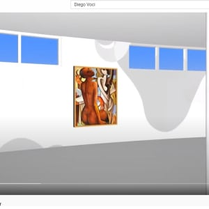 """The Red Hand"" by Antonio Diego Voci #C6 by Antonio Diego Voci  Image: DEIGO VOCI VIRTUAL MUSEUM TOUR 2013"