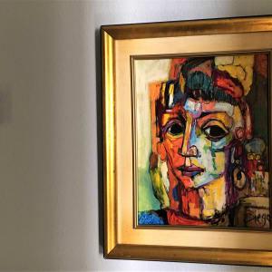 """Italian Girl"" #C61 by Antonio Diego Voci by Antonio Diego Voci"