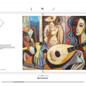 """Still Life with Mandolin"" #C69 by Antonio Diego Voci by Antonio Diego Voci"
