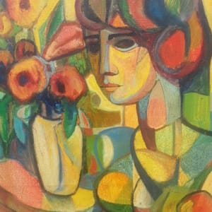 """""""Composition with Flowers"""" by Antonio Diego Voci #C79 by Antonio Diego Voci"""
