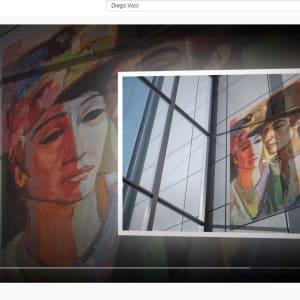 """Spanish Pair"" by Antonio Diego Voci #C8 by Antonio Diego Voci  Image: GALLERY BOOKS Video by Stephen Max May 2020"