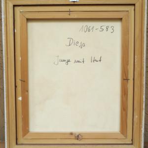 """""""Junge Mit Hut"""" #C93 by Antonio Diego Voci"""