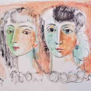 """""""Two Young Ladies"""" CD4 by Antonio Diego Voci"""