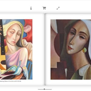 """""""Dreaming Woman"""" by Antonio Diego Voci #C1 by Antonio Diego Voci  Image: Artist of a Thousand Faces by Stephen Max"""