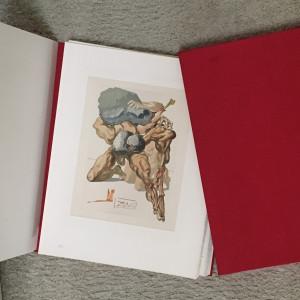 Divine Comedy - Göttliche Komödie   German Edition  by Salvador Dali  $6,000 for complete  single set or all 3 sets  $15,000 by Salvador Dali